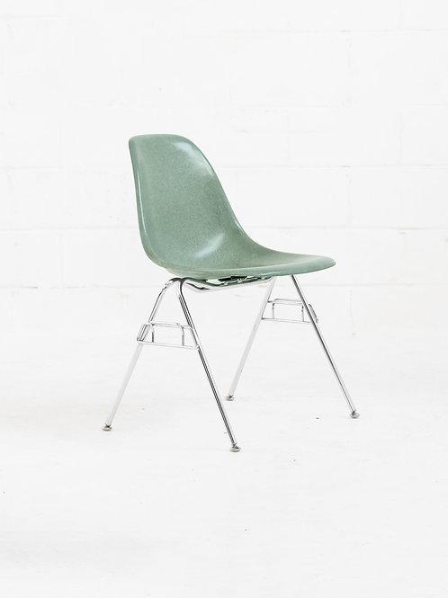 Eames Molded Fiberglass Stacking Chair for Modernica - Moss
