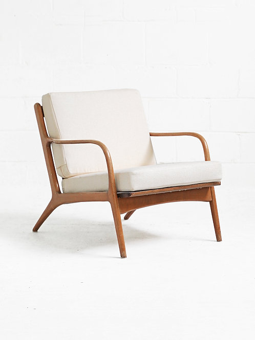 Ash Lounge Chair in the style of Adrian Pearsall for Craft Associates