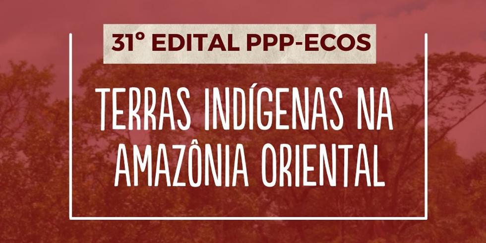 """[prorrogado] Edital do Fundo PPP-ECOS """"Gestão Ambiental e Territorial Integra  de Terras Indígenas na Amazônia Oriental"""""""