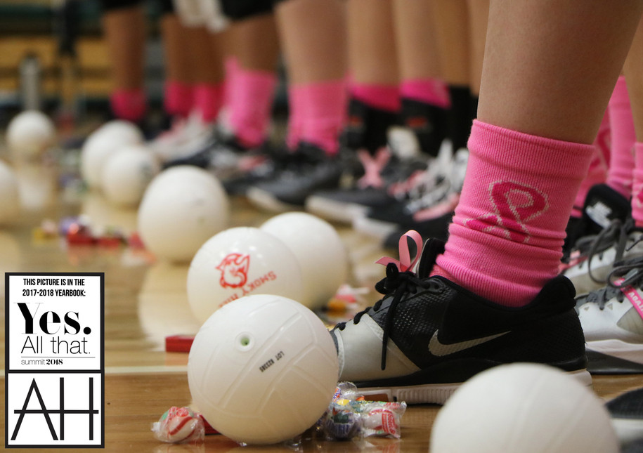 Volleyball vs. CT - Cancer Awareness Month
