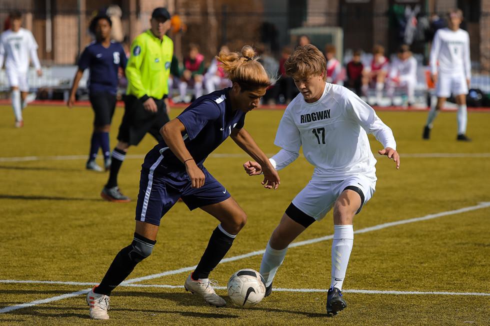 Ridgway vs. Lotus Soccer - CHSAA Playoffs