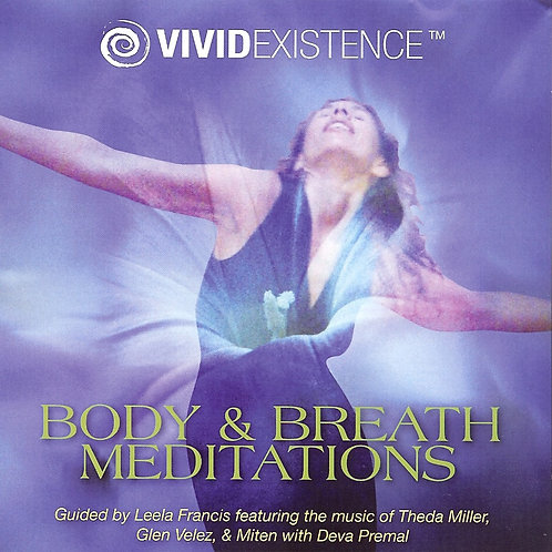 VividExistence Body & Breath Meditations CD