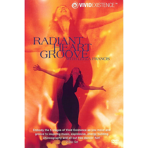 Radiant Heart Groove, Dance workout DVD/CD Set