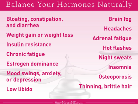 Striking the balance between nutrition and hormones