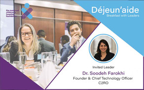 C2RO EVENTS | C2RO at Déjeun'aide: Breakfast with Leaders event in Montreal