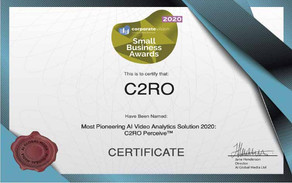 C2RO NEWS | C2RO PERCEIVE™ recognized as a pioneer in AI video analytics