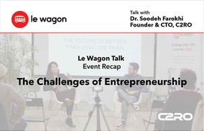 C2RO EVENTS | C2RO at Le Wagon Talk  - The Challenges of Entrepreneurship
