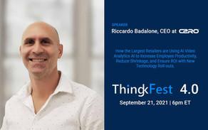 C2RO EVENTS | ThingkFest Speaker, Riccardo Badalone, CEO at C2RO