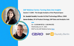 C2RO EVENTS | C2RO to Present at SAP Webinar Series: Turning Data Into Insights