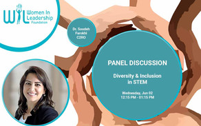 C2RO EVENTS | C2RO Founder & CTO, Dr. Farokhi to be panelist at Women in Leadership Forum