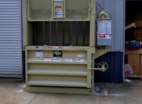 Cardboard Baler Repair