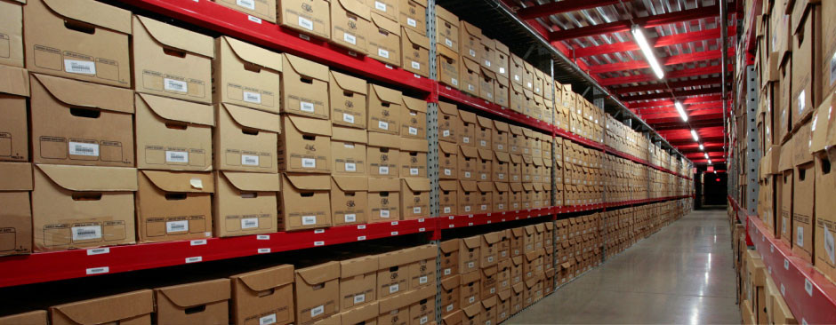 Document and File Storage Facility in Central Texas