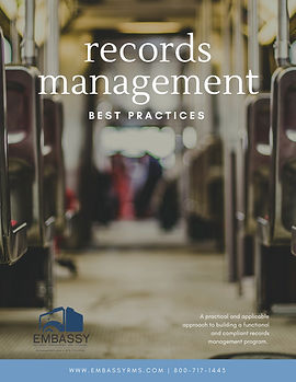 records management best practices ebook.