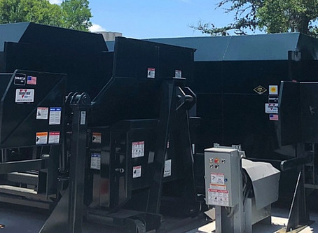 Renting a compactor or baler versus purchasing