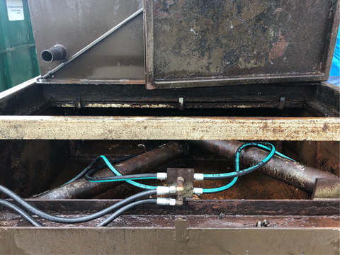 Compactor After Cleaning