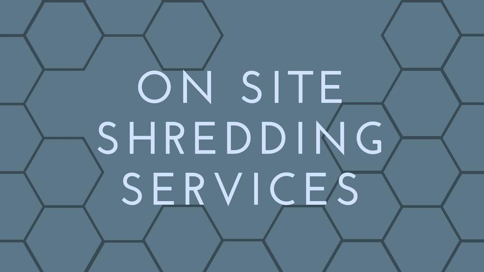 On Site Shredding