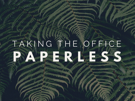 Taking The Office Paperless