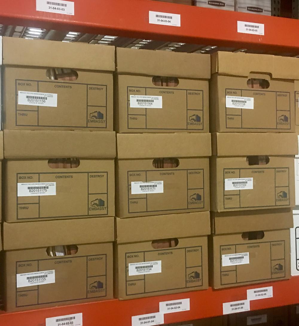 Confidential Records Storage