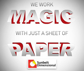 It's paper magic!