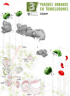 SMAR Architecture Studio Projects Work International Competition Architecture Urban Park Torrelodones Tres Parques Urbanos Torrelodones Space Prize Winner Madrid COAM