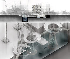 SMAR Architecture Studio Projects Work Students University Academia UWA ALVA Reprogramming Dystopian Perth