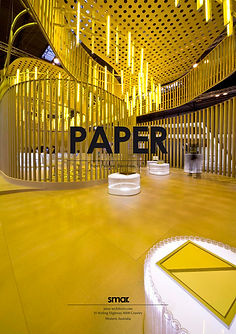 SMAR Architecture Studio Projects Work Cartón Paper Carpet Pavilion Ephemeral Architecture Arquitectura Efimera Reciclado Recycled