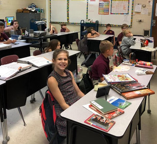 3rd Graders Learn About Japan