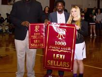 Sellars Joins 1,000 Point Club
