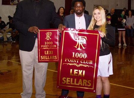 Sellars Joins 1,000 Point Club