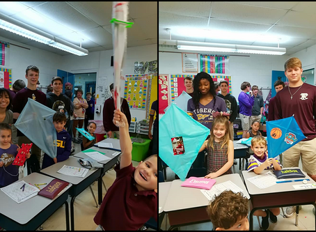 Geometry Class Designs Kites for Kindergartners