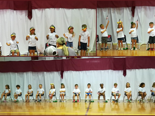 Pre-K Holds End of Year Program