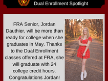 Class of 2021 Dual Enrollment Spotlights