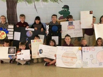 2nd Grade Studies the Solar System