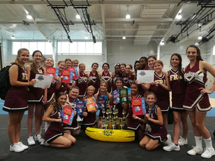 Cheer Squads Perform Well at Camp