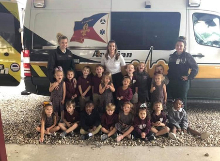 Pre-K Learns About Community Helpers