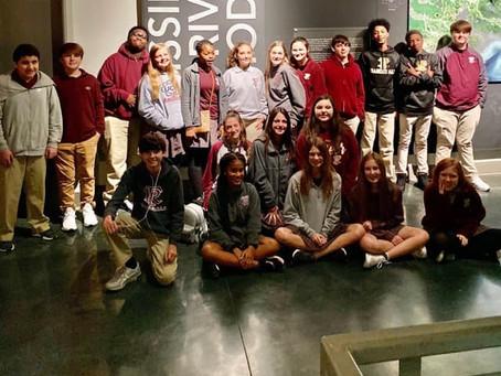 8th Grade Visits LSU Center for River Studies