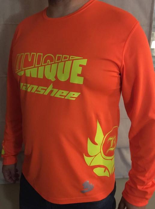 UNIQUE SIMPLE JERSEY LONG SLEEVED