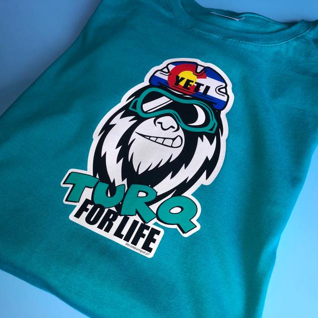 #TURQFORLIFE turquoise