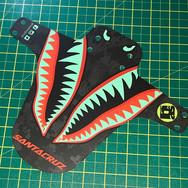 Tiger shark custom mudguard