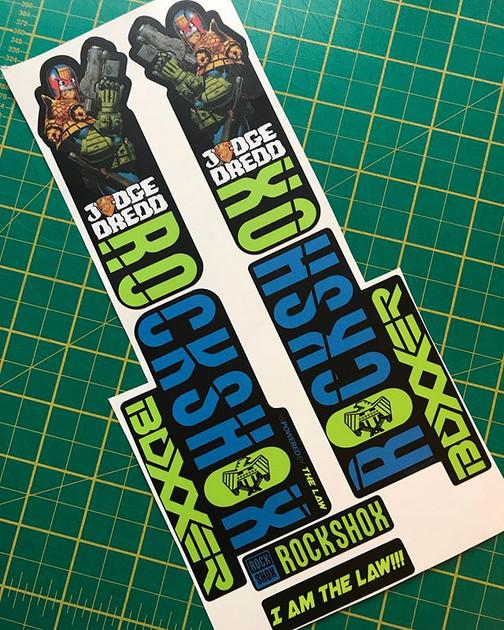 Judge Dredd RS Boxxer decals