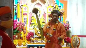 विजयादशमी पर सीएम योगी का दिव्य रुप