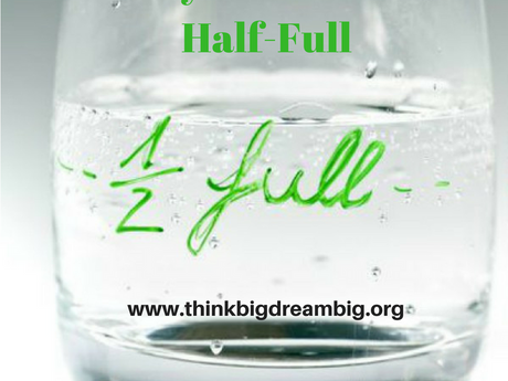 Why the Glass is Half-Full
