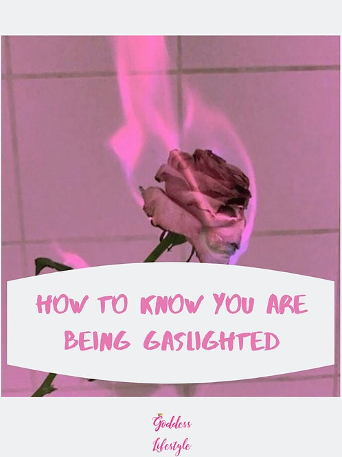 How to Know You Are Being Gaslighted