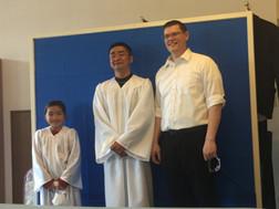 バプテスマを授ける事とイースターの日