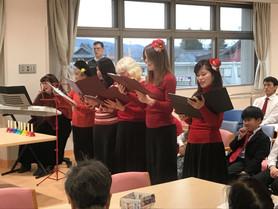 12月16日 佐久総合病院でクリスマスキャロル
