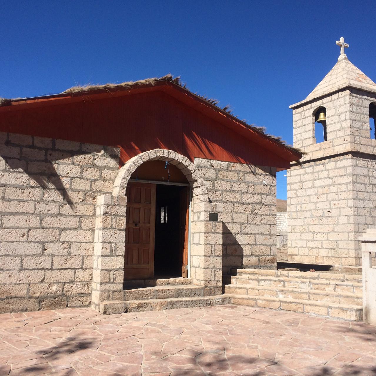 Igreja no Vilarejo de Socaire