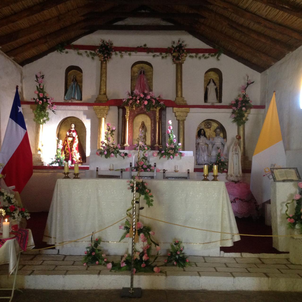 Igreja no Vilarejo de Toconao