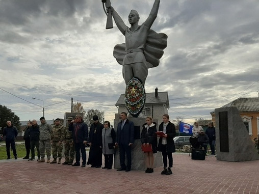Под Рязанью отреставрировали памятник погибшим в ВОВ
