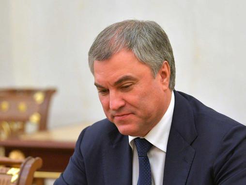 Володин похвалил Сербию за отношение к памятникам героев ВОВ