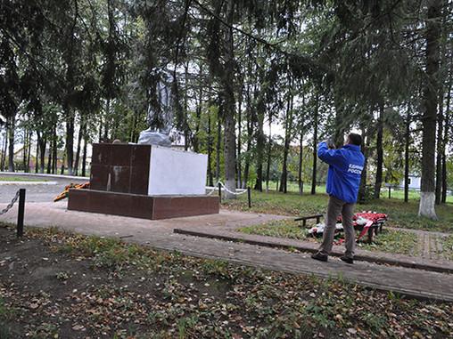 Единороссы Солнечногорья провели мониторинг памятников ВОВ